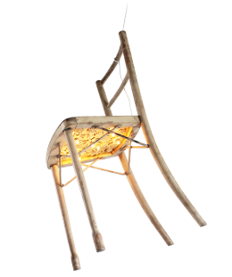chair with light