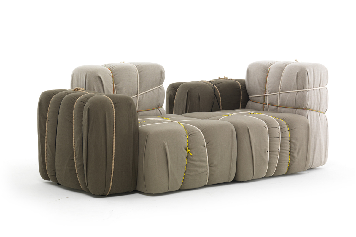 seat with pack shape - Marcantonio design