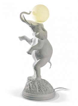 The elephant goes to meet the moon on the top of the hill - Marcantonio design